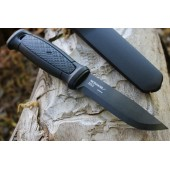 Нож Morakniv Garberg Black Carbon Multi-Mount