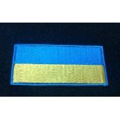 Шеврон Флаг Украины 80*40 с липучкой