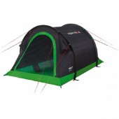 Палатка High Peak Stella 2 (Black/Green) (923768)