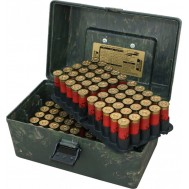 Коробка MTM Shotshell Case на 100 патронов кал. 12/76. Цвет – камуфляж.