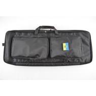 Тактический чехол-рюкзак Бета под АК или Переломку 85 см. УСИЛЕННЫЙ Черный