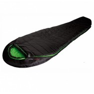 Спальный мешок High Peak Pak 1300 /+3°C (Left) Black/green 922764